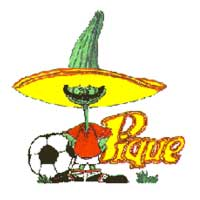 Pique - Mascote da Copa do Mundo de 1986 no México - 13º Copa do Mundo Fifa